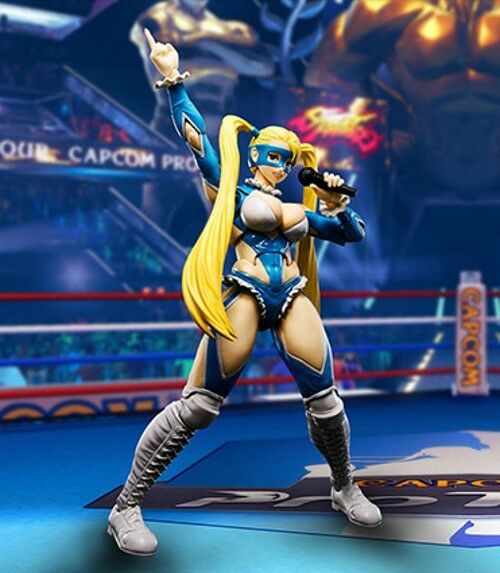 S.H.Figuarts Street Fighter V RAINBOW MIKA Action Figure BANDAI NEW from Japan
