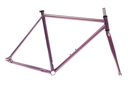 """State Bicycle Co./""""Nightshade/"""" Purple Frame Set Double Butted 4130 Chromo..."""
