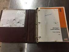 Case 580 Super L Loader Backhoe Parts Catalog