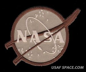 "UNCOMMON DESERT NASA VECTOR 4"" SPACE PATCH - MINT - MADE IN USA"