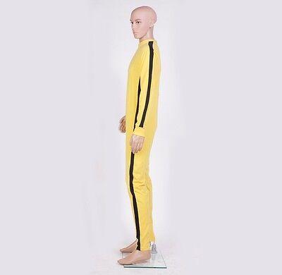 Adult Game of Death Kill Bill Bruce Lee Jumpsuit Costume US Seller fast 1-3 days