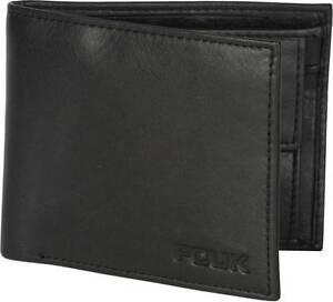 French-Connection-FCUK-Men-Black-Genuine-Leather-Wallet-70-OFF-Bill