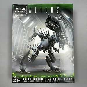 Mega Construx Black Series ALIENS Alien Queen 232 Pc. FREE Shipping!