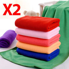 Large Microfibre Beach Bath Hand Towel Sports Travel Gym Lightweight