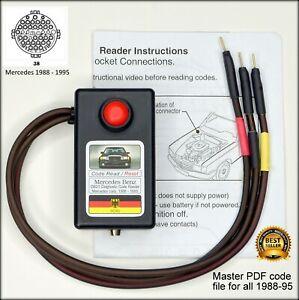 Details zu Mercedes OBD1 Diagnostic code reader R129 W140 500E W124 on