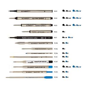 SCHMIDT-refill-inchiostro-compatibile-per-penna-a-sfera-e-roller-blu