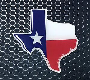 e9f93e5245e Texas Flag Sticker Proud LONE STAR STATE Domed Decal Emblem Car ...