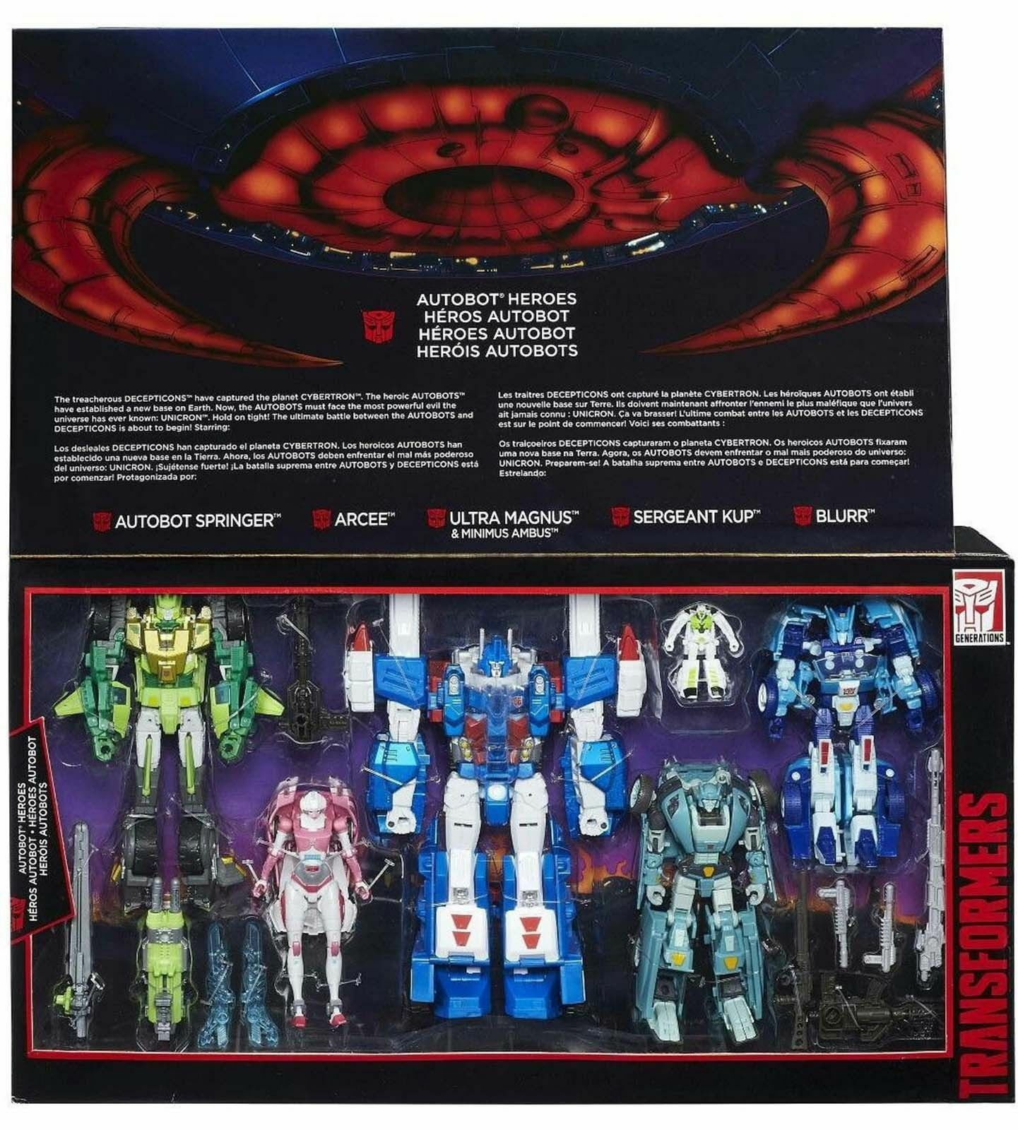 G1 transformers autobot - helden ultra - springer sergeant kup Blaurr heiß