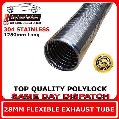 32mm Universal Flexible Exhaust Polylock 1000mm Long