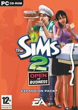 The Sims 2: Open for Business Expansion Pack (PC CD)