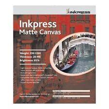 """Inkpress Canvas Matte Matte Art Inkjet Photo Paper 13""""x35' Roll - """"2 Rolls"""""""