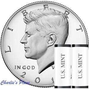 2016 P/&D Kennedy Half Dollar 2 Roll Set of Uncirculated Coins 1//2