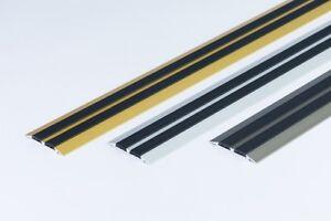 Flat-Threshold-Carpet-Door-Aluminium-Floor-Edging-bar-Trim-Strip-45mm-x1M-39-37-034