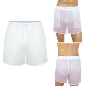 Men-039-s-Summer-Swim-Shorts-Swimwear-Swimming-Trunks-Quick-Dry-Boxer-Briefs-Pants