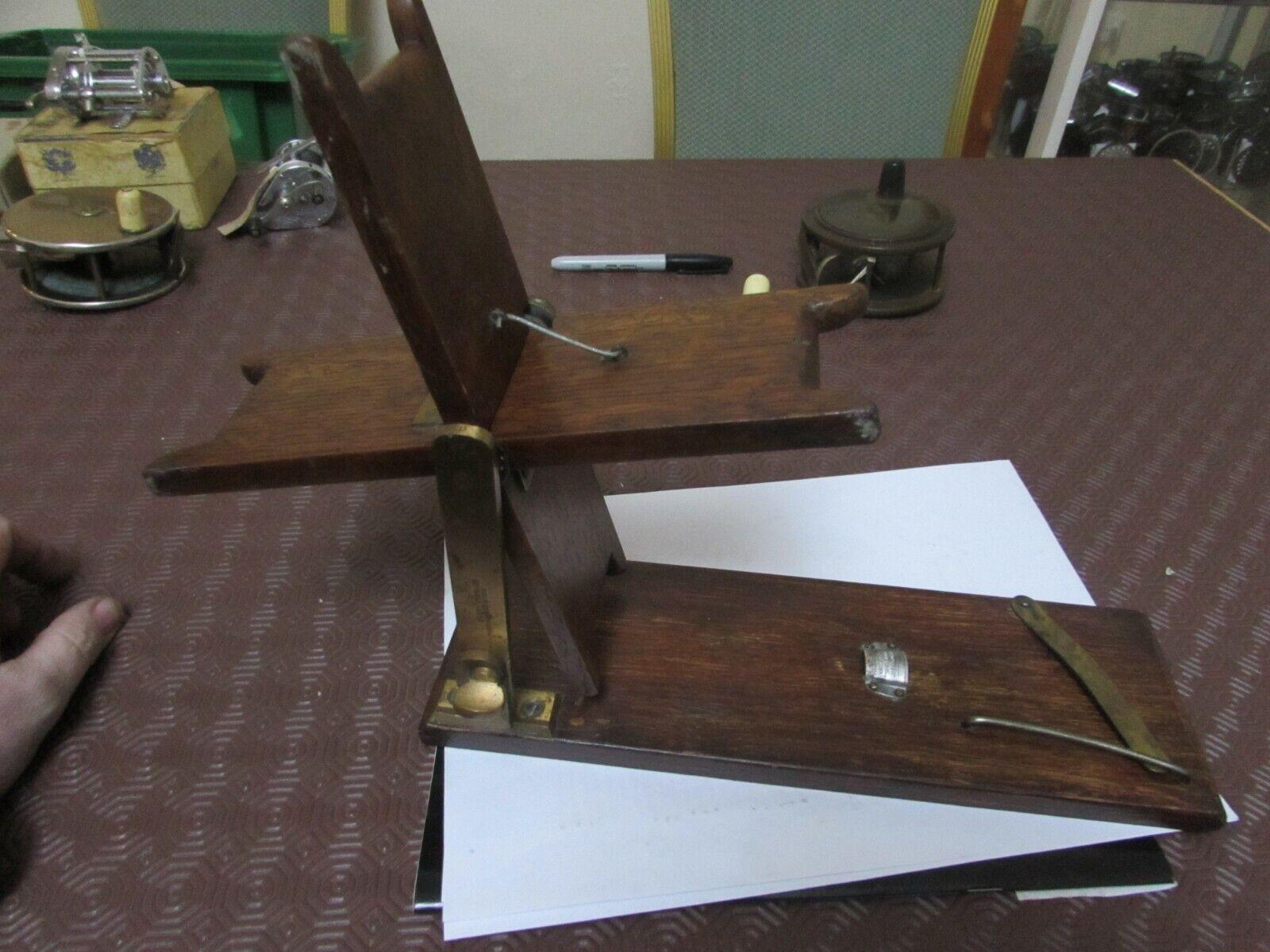 Eccellente rare vintage Hardy 1911 MODELLO SETA LENZA Avvolgitore Linea asciutto ^^