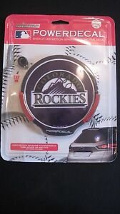 Rico-Industries-CAR-034-Window-LED-Power-Decal-034-Colorado-Rockies-NEW-Great-Gift