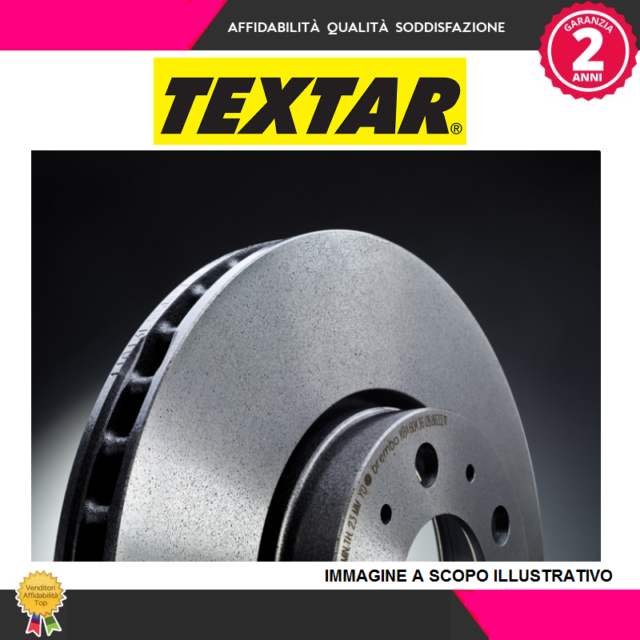 92132805 Par de discos de freno (TEXTAR)