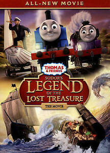 Thomas-amp-Friends-Sodor-039-s-Legend-of-the-Lost-Treasure-The-Movie-DVD-NEW