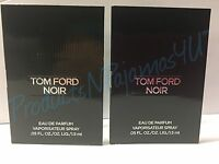 (lot Of 2) Tom Ford Noir Eau De Parfum For Men 0.05fl.oz/1.5ml Carded Samples