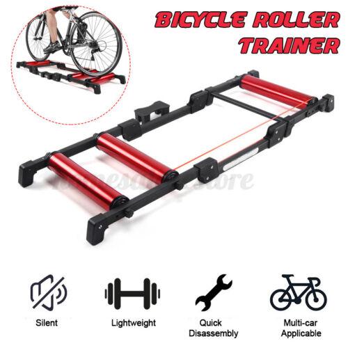 Bicycle Bike Traer Rollers Silent Road MTB Trag Cycle Red Platform