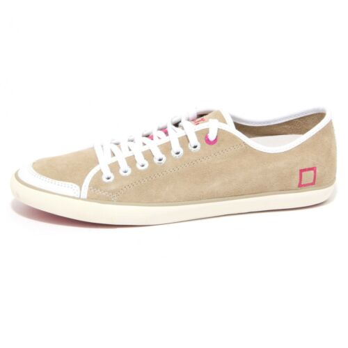 0827O sneakers donna D.A.T.E. suede sabbia shoes woman