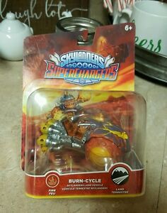 New Skylanders Superchargers Burn Cycle Land Vehicle Fire Figure Toy Land