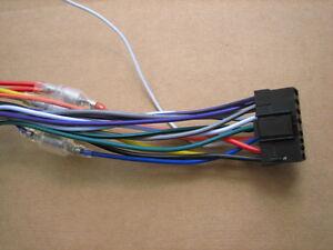 image is loading sony-wire-harness-cdx-gt260mp-cdx-gt40u-cdx-