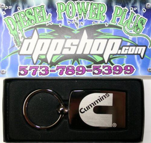 dodge cummins keychain truck carbon fiber black key chain fob car cummings metal