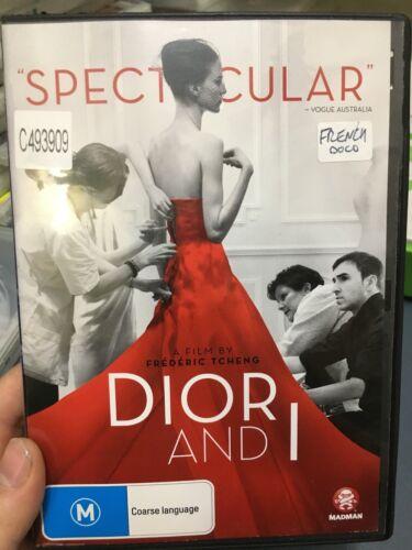 1 of 1 - Dior And I ex-rental region 4 DVD (2014 fashion documentary movie)