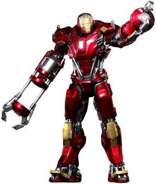 Iron Man 3 Power Pose Iron Man Mark 35 rouge SNAPPER Collectible Figure