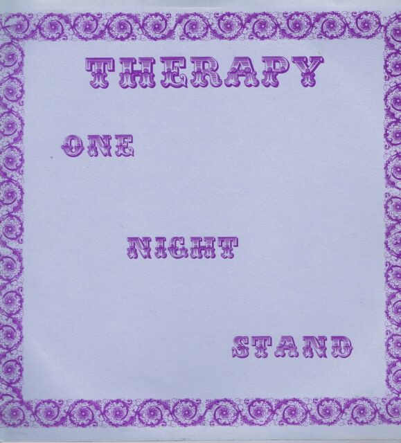 Therapy – One Night Stand – IRS 5124 – LP Vinyl Record