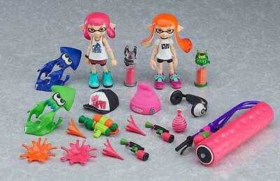 Splatoon Girl DX Edition Max Factory Action Figure Figma No.Fig400-DX