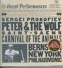 Prokofiev: Peter and the Wolf; Saint-Sa‰ns: The Carnival of the Animals (CD, CBS Great Performances)