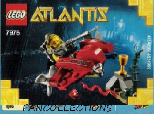 Instruction//Notice  for Set 7976 Ocean Speeder  NEUF LEGO-Fire