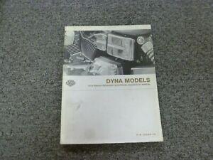 2004 Harley Davidson Dyna Wide Glide Low Rider Electrical Wiring Diagrams Manual Ebay
