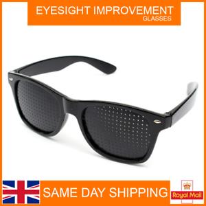 Pinhole-Eyesight-Improvement-Eye-Training-Exercise-Glasses-Eyewear-NEW-UK-STOCK