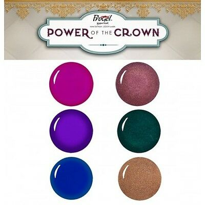 SuperNail ProGel - Power Of the Crown Collection - 0.5oz / 14ml - All Colors