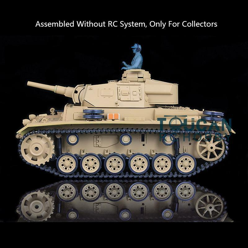 Henglong 1 16 German Panther H estática Tanque 3849 Modelo III con sistema de control de radio o Batería