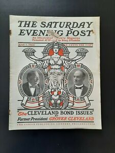 Saturday Evening Post Magazine May 7 1904 J. J. Gould Grover Cleveland