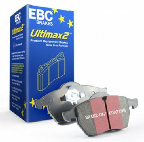 EBC Ultimax2 Front Brake Rotors for 11-15 Audi Q7 Supercharged UD977