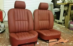 Jaguar Xj6 Series 3 Leather Front Seat Covers Ebay
