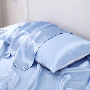 2 Pcs Silk Pillow Towels 100 Mulberry Silk Pillow Cover