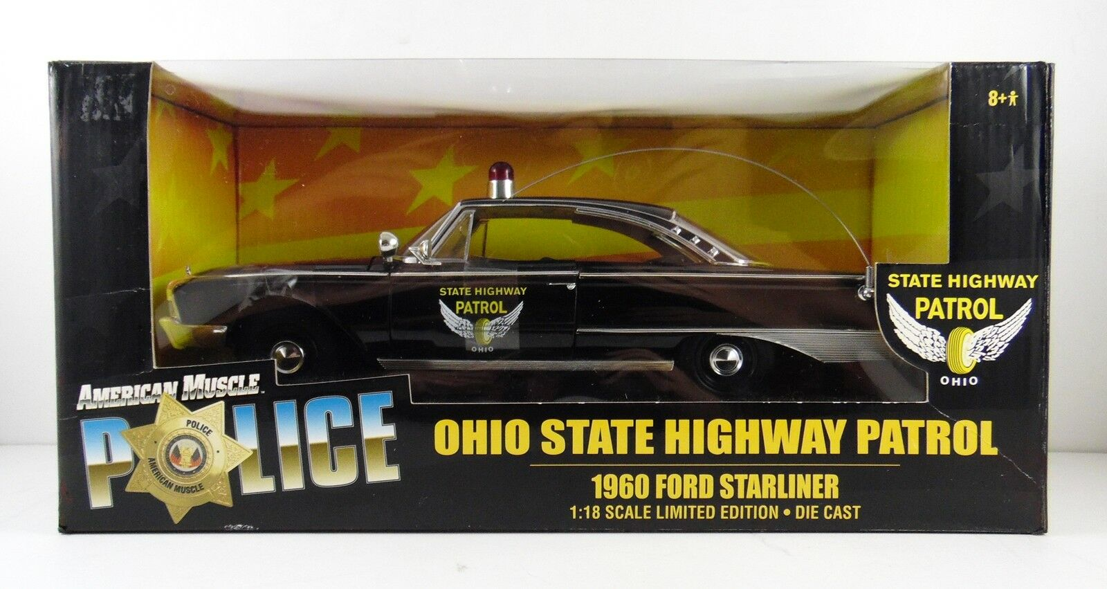 1960 Ford vaisseau Ohio State Highway Patrol 1 18 Scale