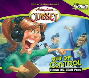 New Adventures In Odyssey Out Of Control 40 4 Cd Audio