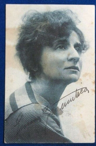 ACTRESS EMMA ? GRAMATICA photo R. Alvino postcard no viaggiata years 30 f