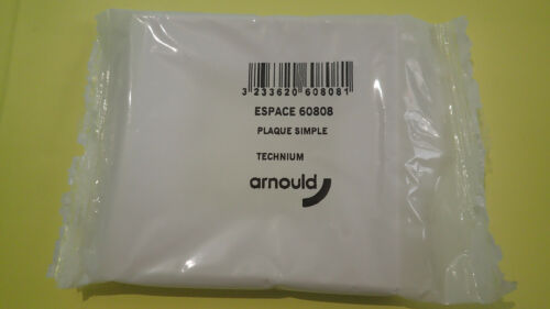 60808 TECHNIUM Plaque simple A l/'UNITE Arnould ESPACE