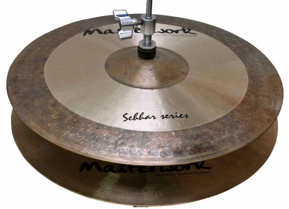 Masterwork Cymbals Sehhar Serie 15-Zoll Sehhar Hi-Hat Light