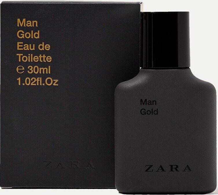 Edt Eau Gold Fragrance 30ml Zara De Toilette Men For OkiuPZX