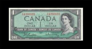 1954-BANK-OF-CANADA-QEII-1-Beattie-amp-Rasminsky-034-V-N-034-GEM-UNC
