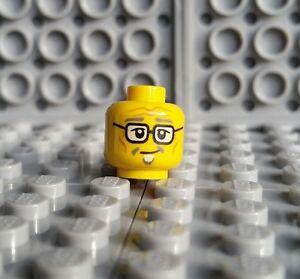 LEGO NINJAGO MISAKO MINIFIGURE HEAD Old//Lady//Yellow//Glasses//Grandma